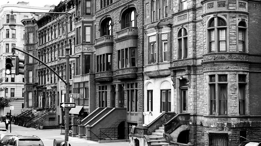 New York City Photograph - Brownstone by Darren Martin