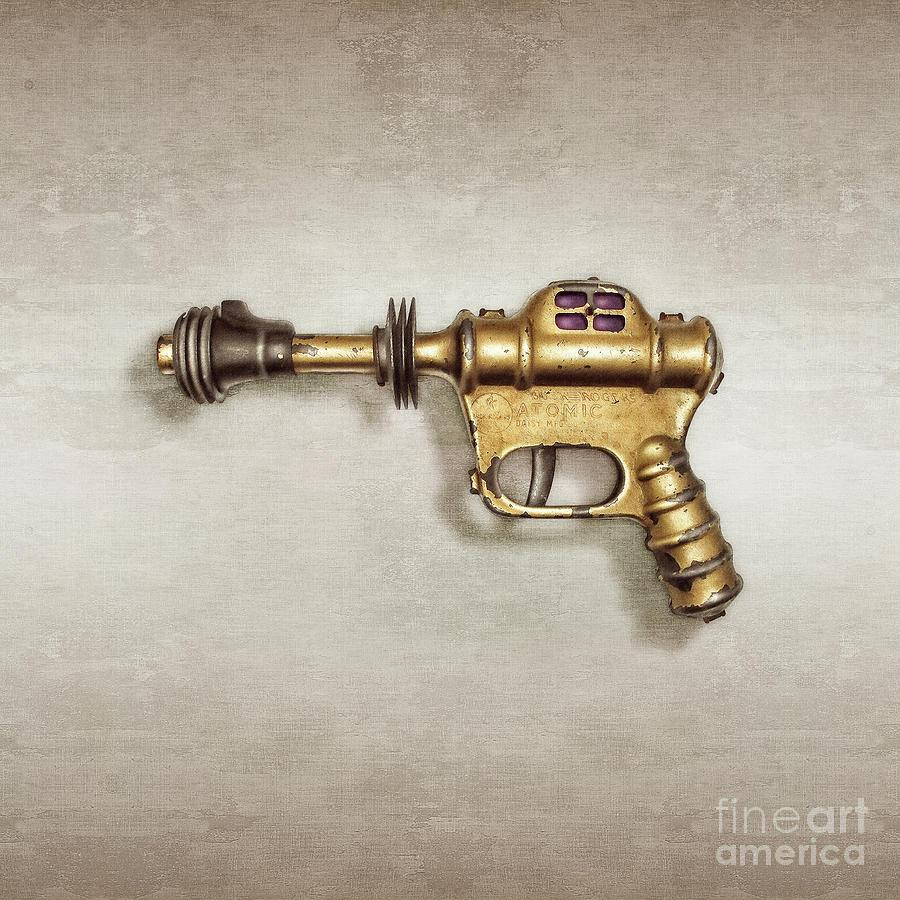 Buck Rogers Ray Gun Photograph