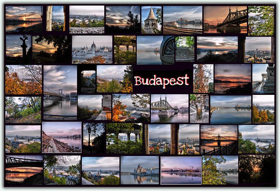 Budapest Pyrography - Budapest In October by Janos Kovac