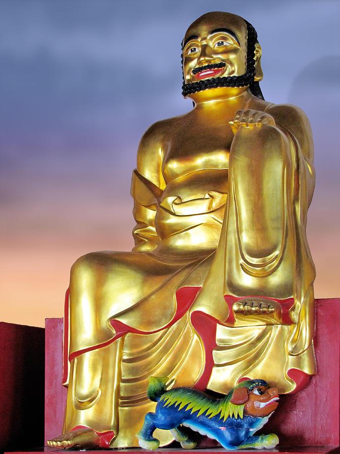 Deity Photograph - Buddha by Christine Till