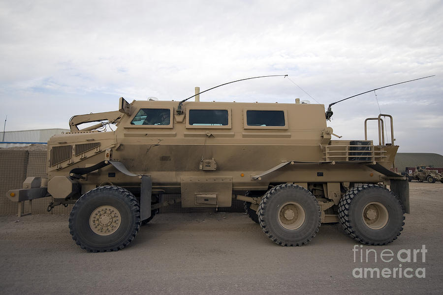 Buffalo Mine Protected Vehicle Photograph