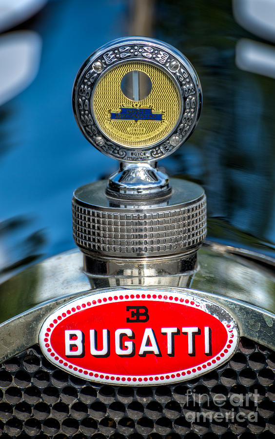 bugatti car emblem photograph by adrian evans. Black Bedroom Furniture Sets. Home Design Ideas