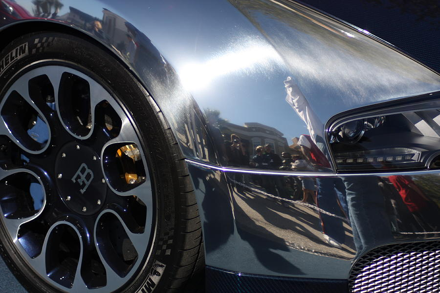 Exotic Cars Photograph - Bugatti Front by Michael Albright