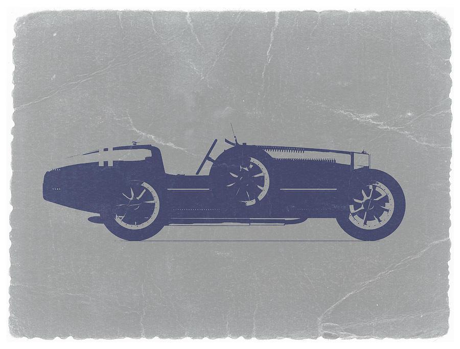 Bugatti Type 35 Photograph - Bugatti Type 35 by Naxart Studio