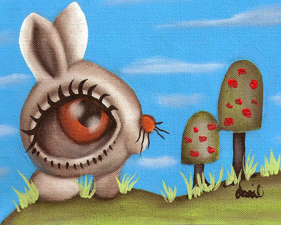 Bunny  Painting - Bunny Bolita by  Abril Andrade Griffith