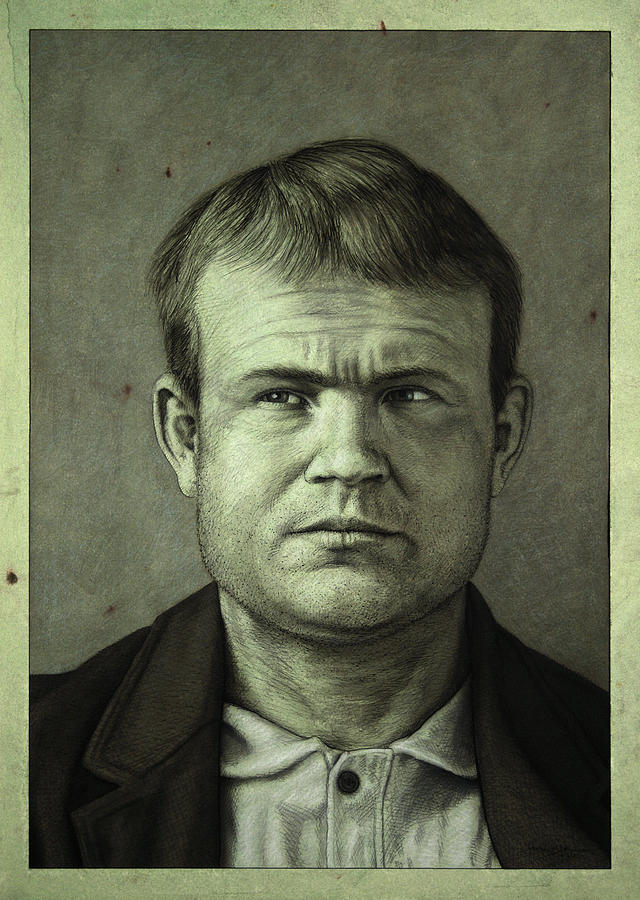 Butch Cassidy Painting - Butch Cassidy by James W Johnson