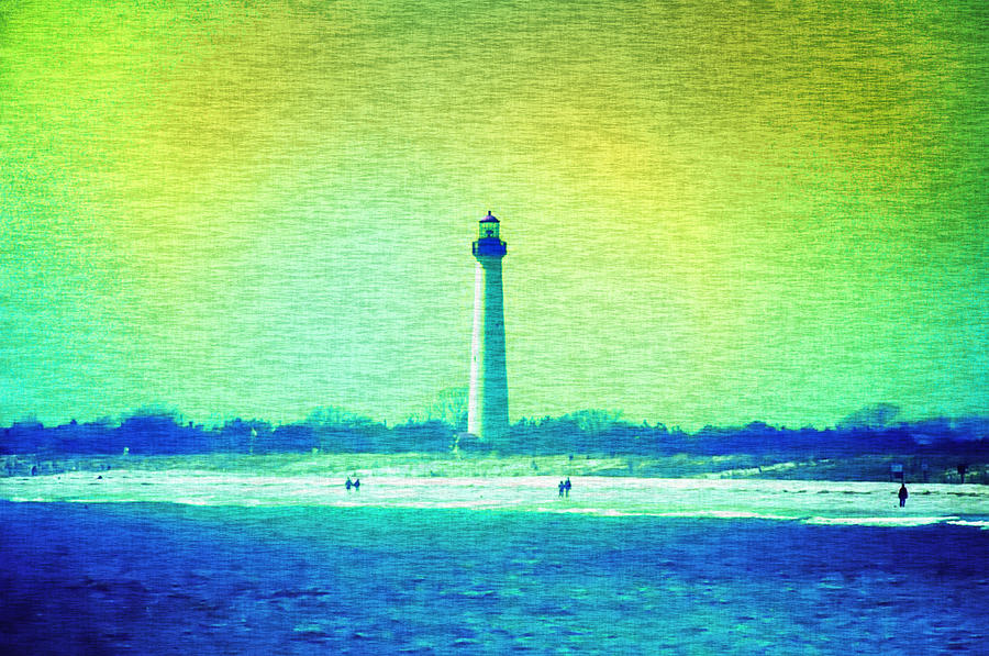 Lighthouse  Photograph - By The Sea - Cape May Lighthouse by Bill Cannon