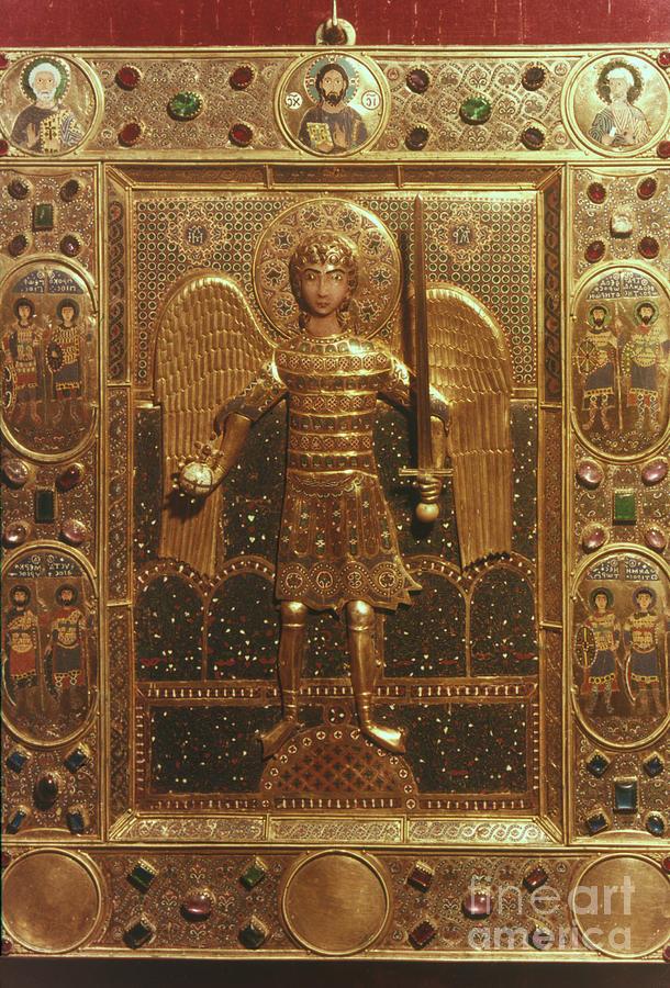 Byzantine Art: St. Michael Photograph