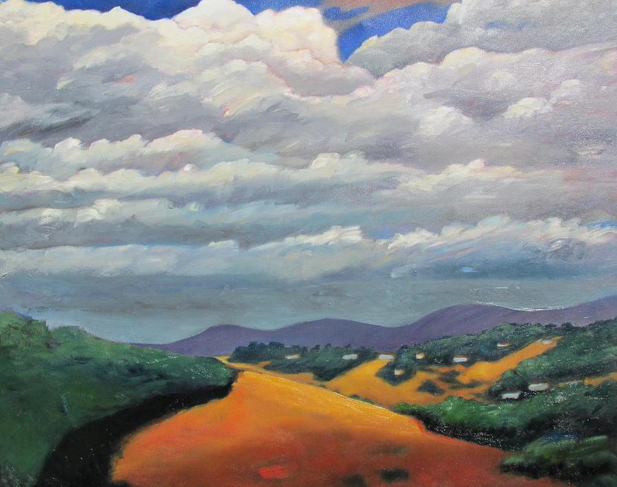 Landscape Painting - Ca Cloudscape by Gary Coleman
