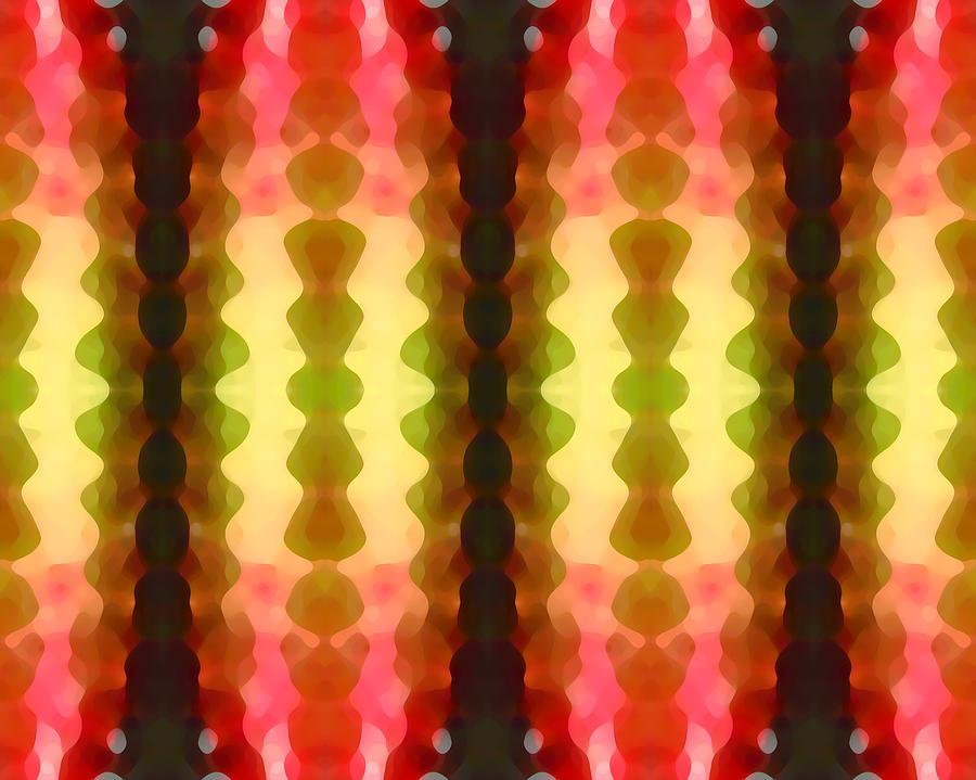 Abstract Painting Digital Art - Cactus Vibrations 1 by Amy Vangsgard