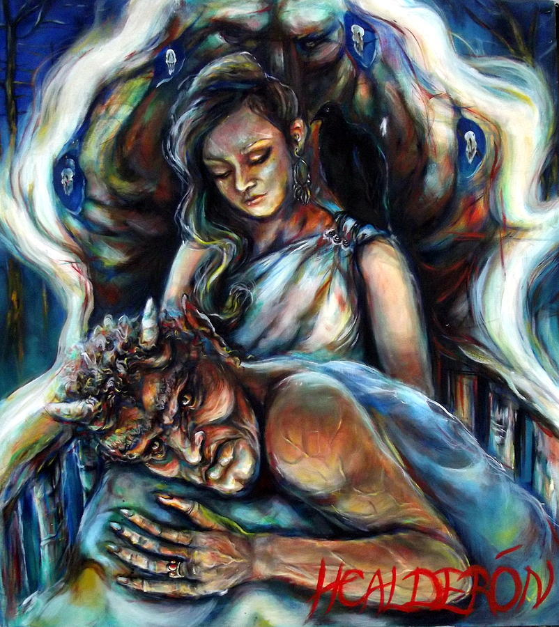 Calibos Painting - Calibos by Heather Calderon