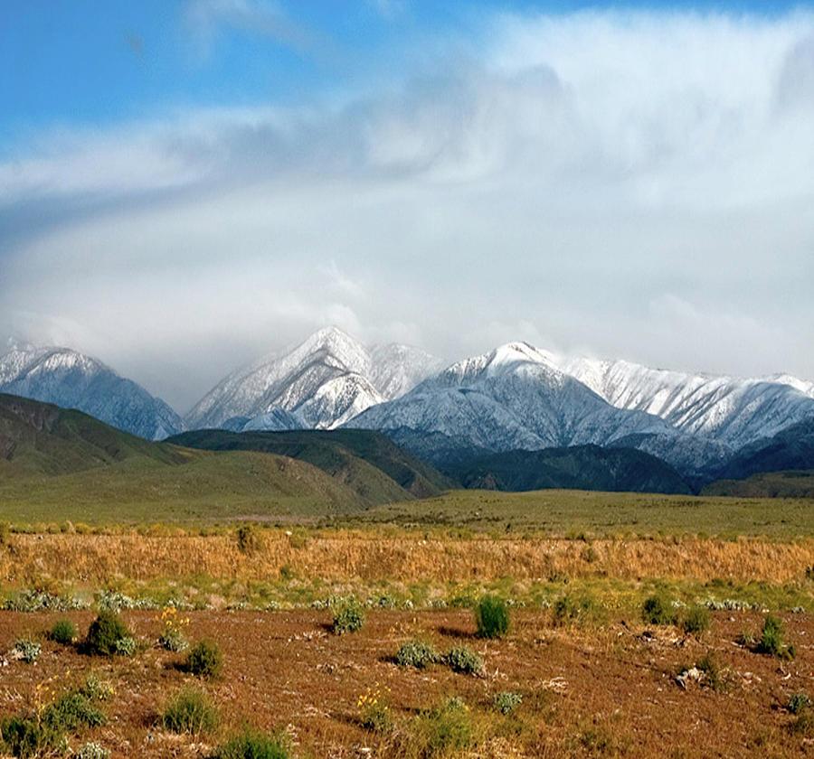 California Desert Landscape Photograph