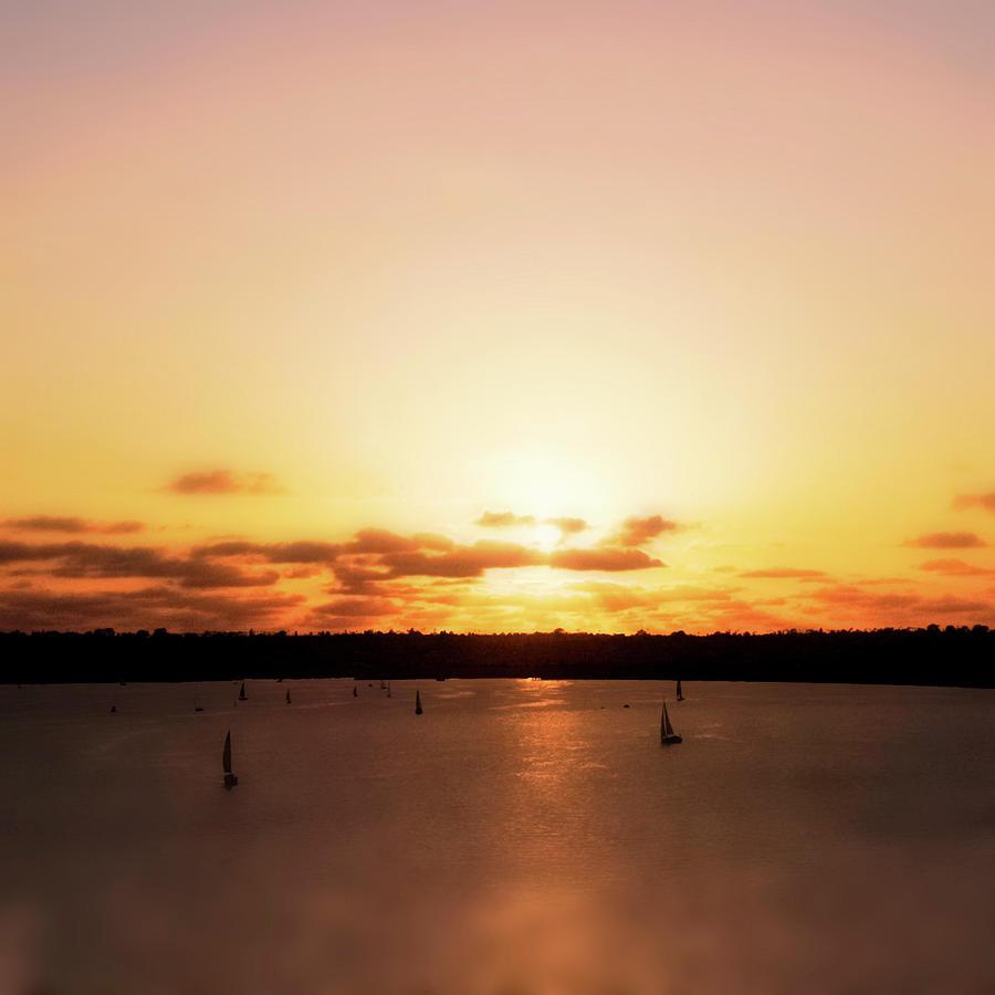 California Sunset I Photograph