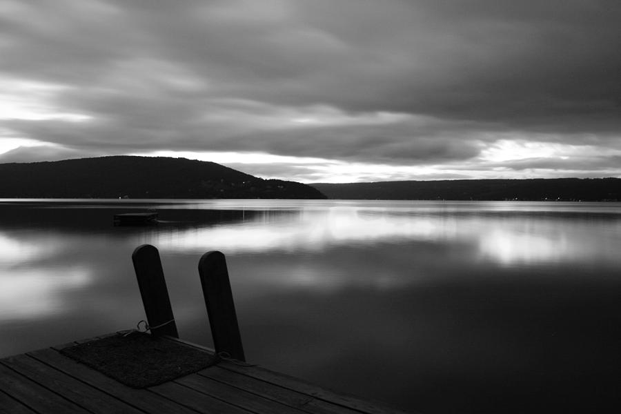 Lake Photograph - Calm Before The Storm by Steven Ainsworth