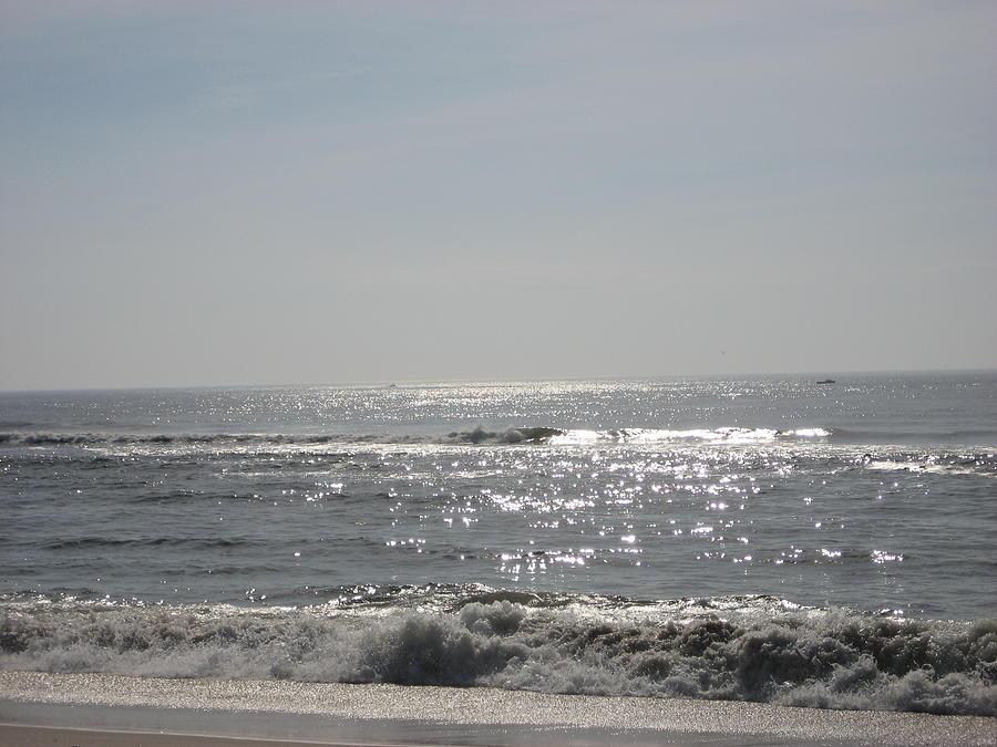 Ocean Photograph - Calming Waves by Jennifer  Sweet
