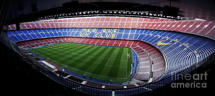 Camp Nou Photograph - Camp Nou by Agusti Pardo Rossello