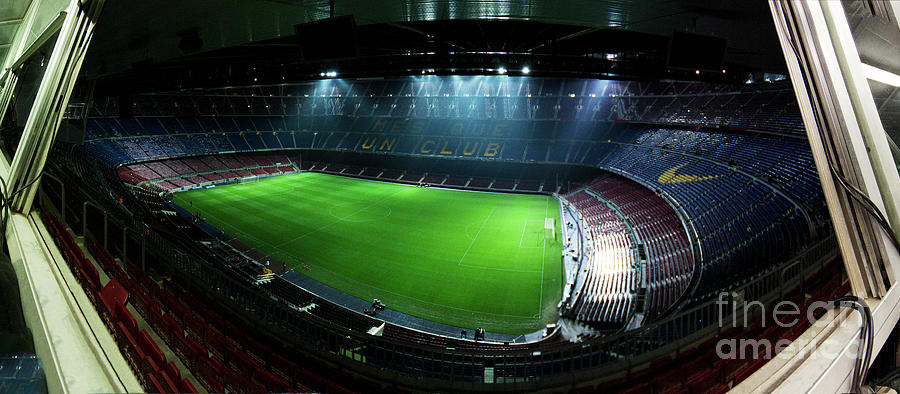 Camp Nou Photograph - Camp Nou At Night by Agusti Pardo Rossello