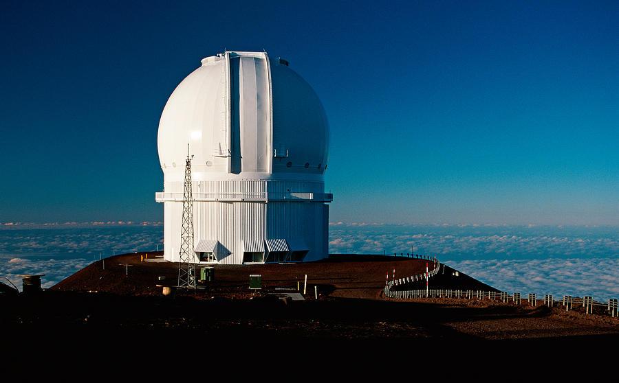 Telescope Photograph - Canada France Hawaii Telescope 2 by Gary Cloud