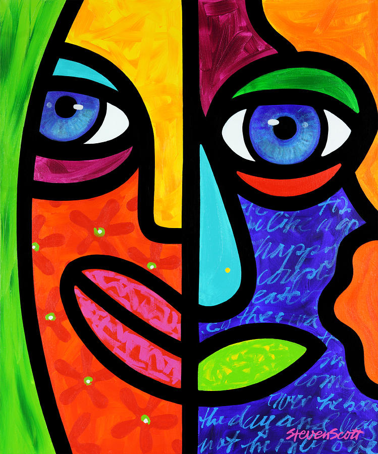 Eyes Painting - Candy Dandee by Steven Scott