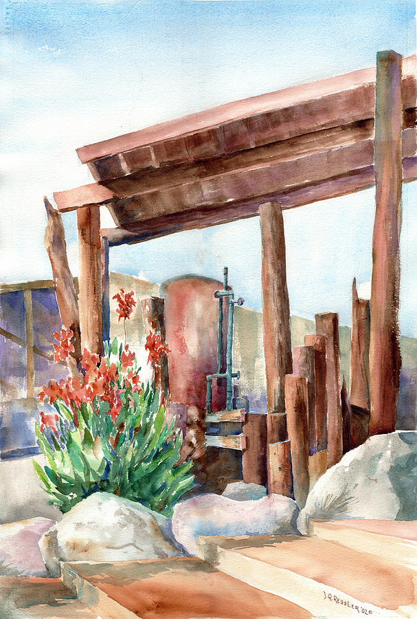 Architecture Painting - Canna And Boiler Run by John Ressler