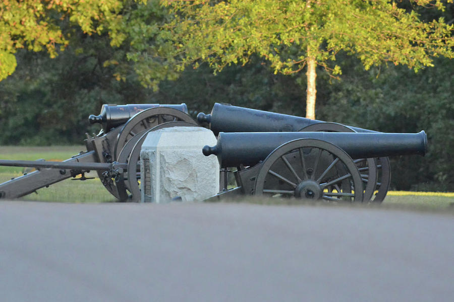 Cannons At Shiloh Photograph