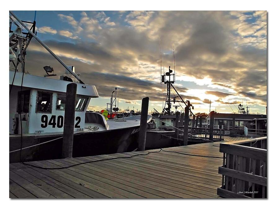 Cape Photograph - Cape Cod Harbor by Joan  Minchak