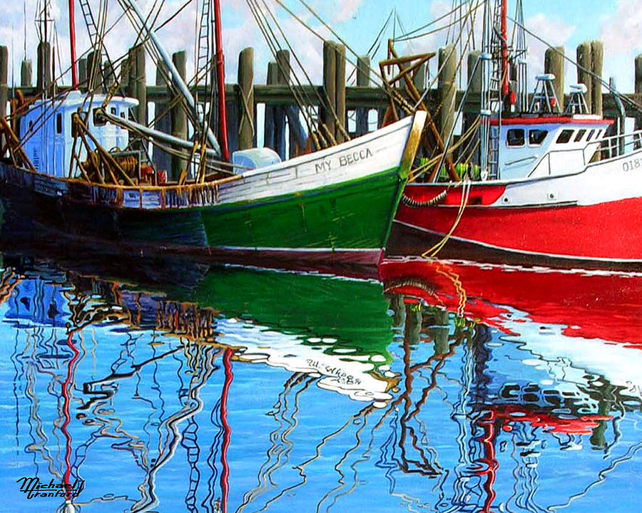 Cape Cod Painting - Cape Cod Paintings  by Michael Cranford