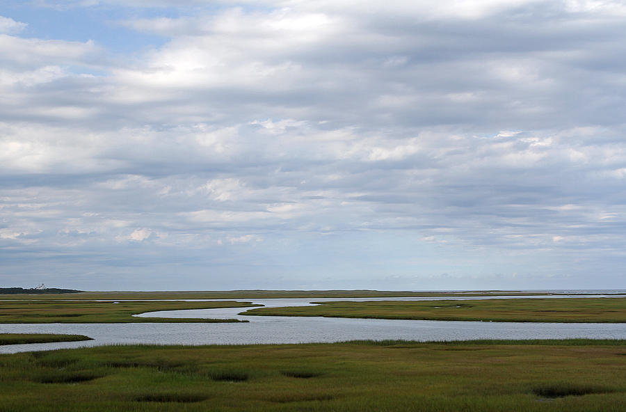 Cape Cod Salt Marsh Photograph by Juergen Roth