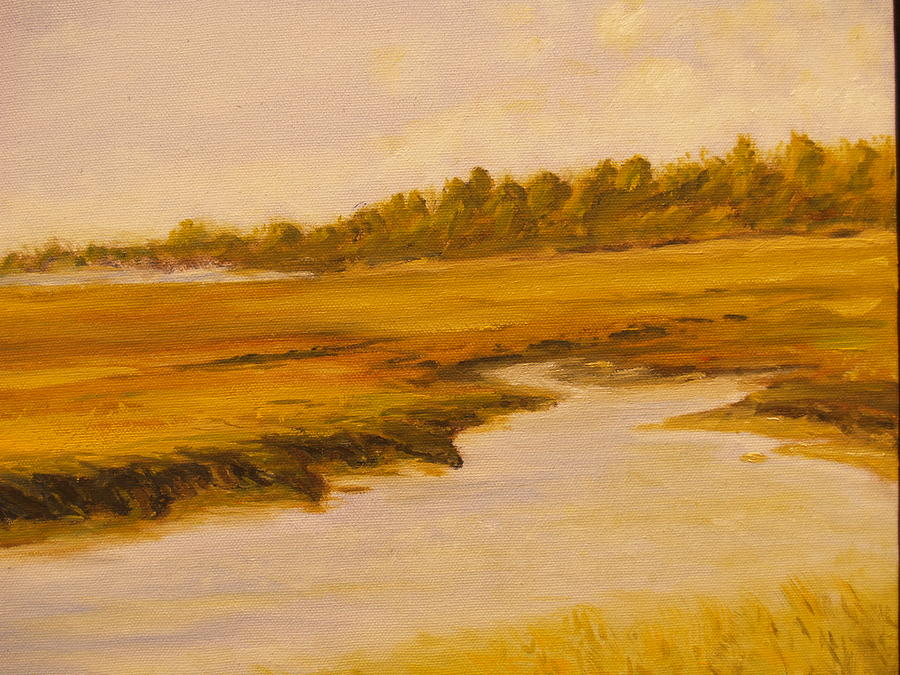Cape Painting - Cape Marsh by Paul Galante