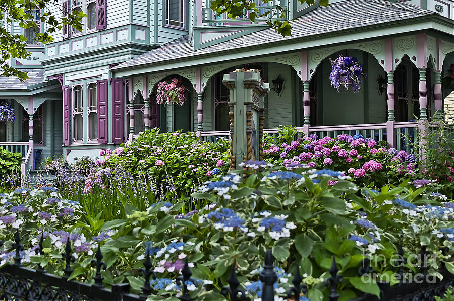 Cape May House And Garden. Photograph