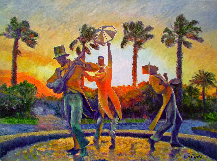 Sunset Painting - Cape Minstrels by Michael Durst