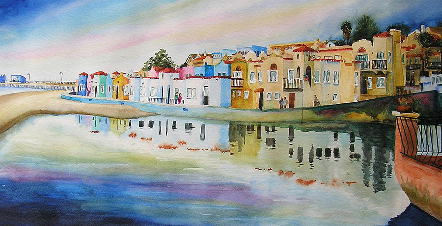 Capitola Painting - Capitola by Karen Stark