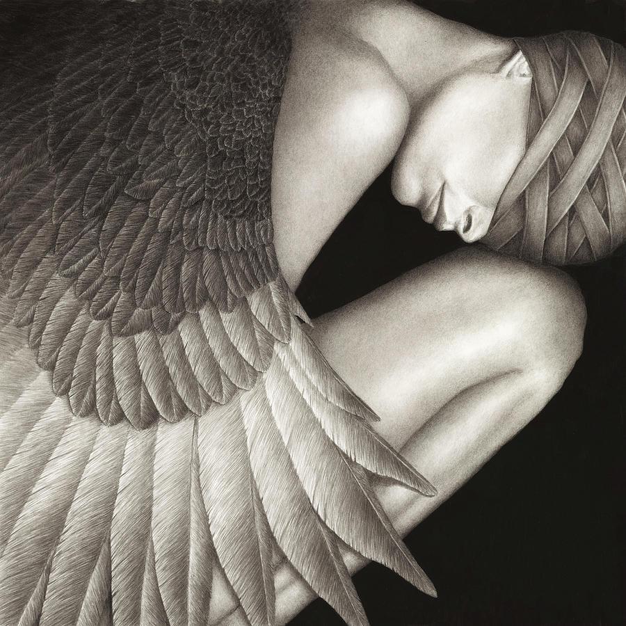 Woman Painting - Captivity by Pat Erickson