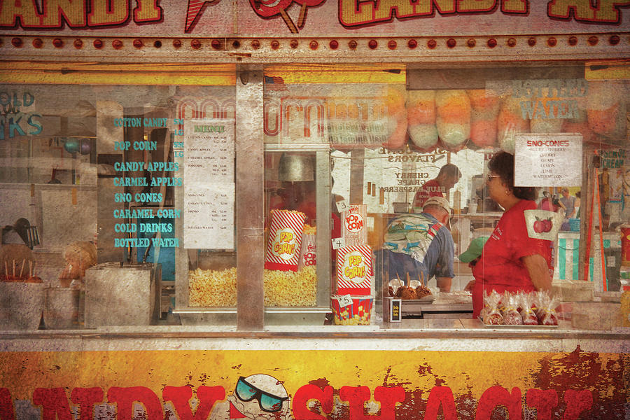 Carnival - The Candy Shack Photograph