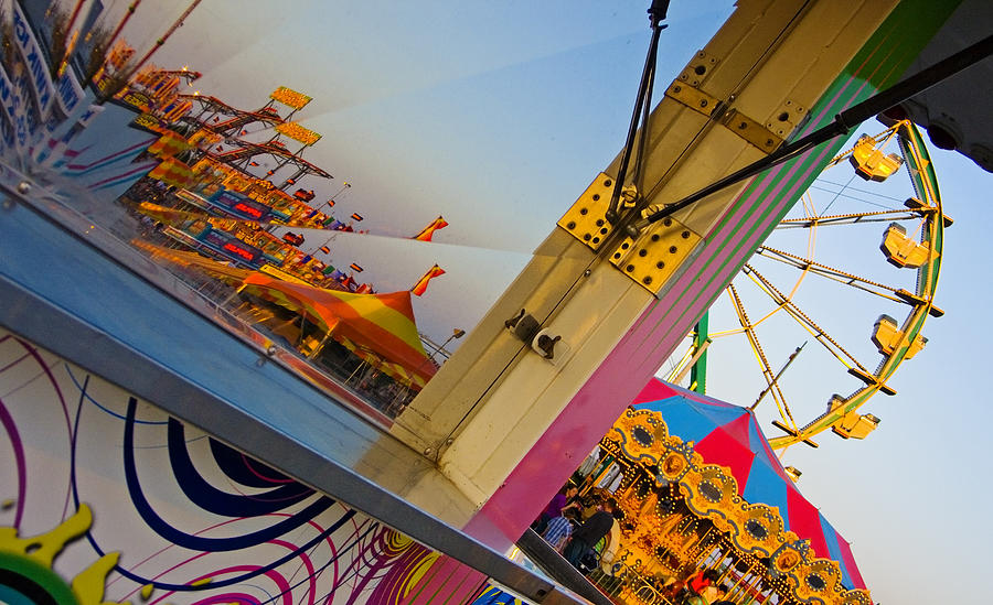 Carnival Photograph - Carnival 1 by Skip Hunt