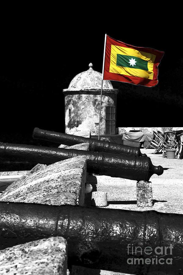 Cartagena Walled City Photograph - Cartagena Walled City by John Rizzuto