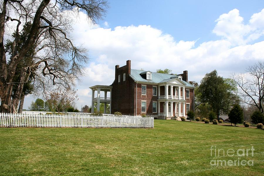 Carter House Photograph - Carter House And Carnton Plantation by John Black