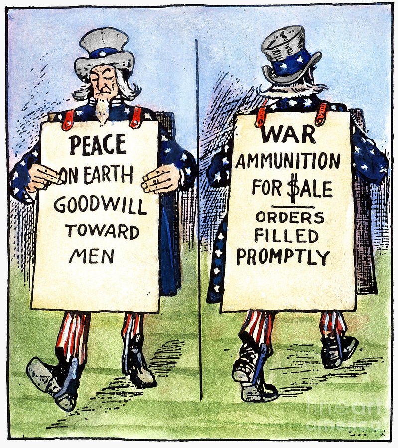 Cartoon: U.s. Neutrality Photograph