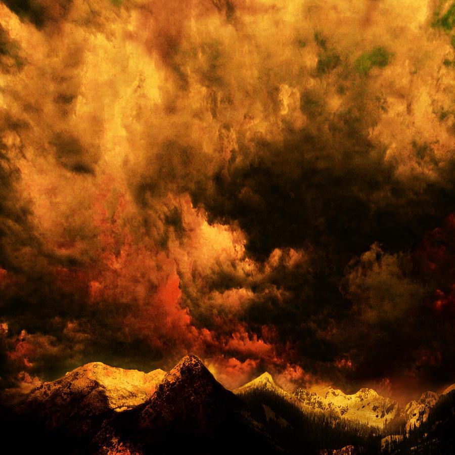 Landscape Photograph - Cascade Storm by Jeff Burgess