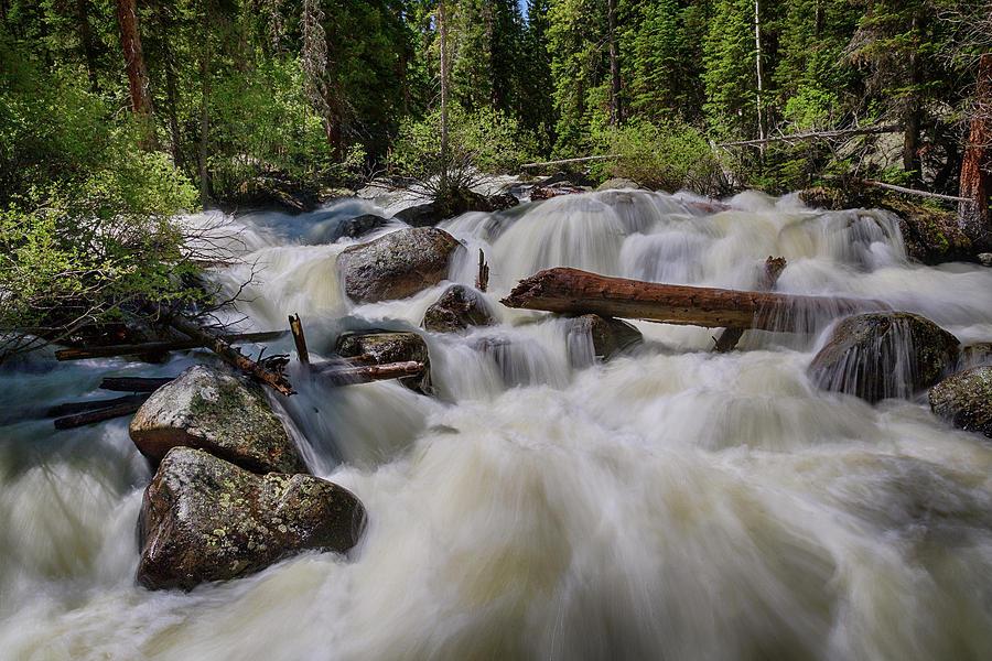 Cascading Stream Photograph