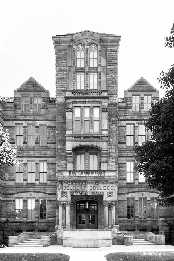 1881 Photograph - Case Western Reserve University Adelbert Hall by University Icons
