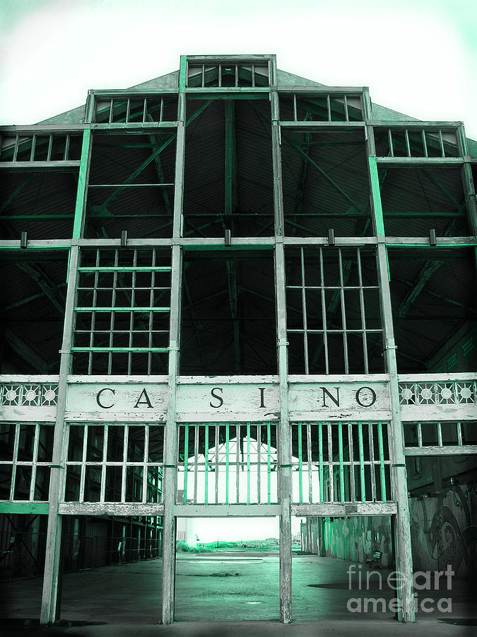 Abandoned Photograph - Casino by Colleen Kammerer