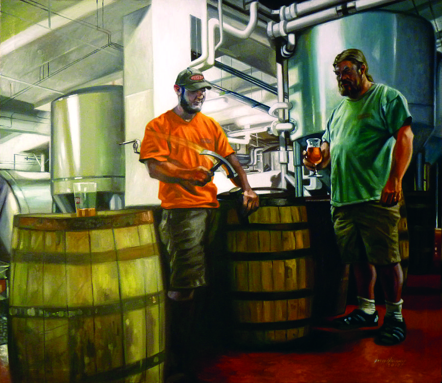 Cask Conditioning Painting