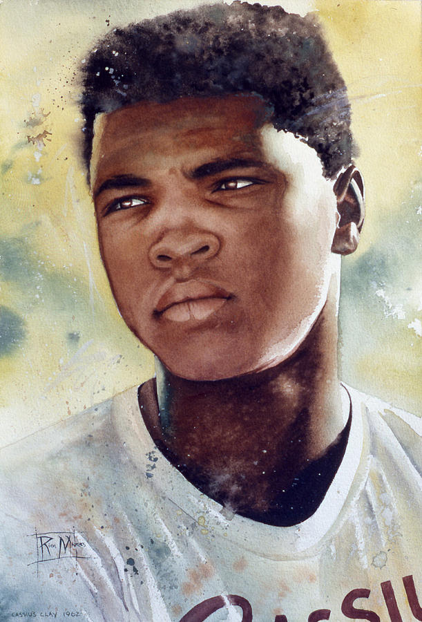 Cassius Clay Painting - Cassius Clay by Rich Marks