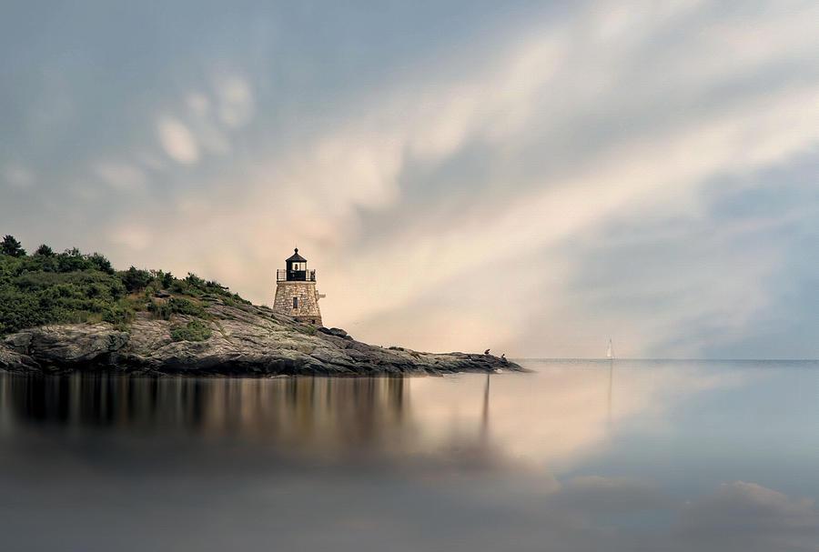 Castle Hill Light Photograph
