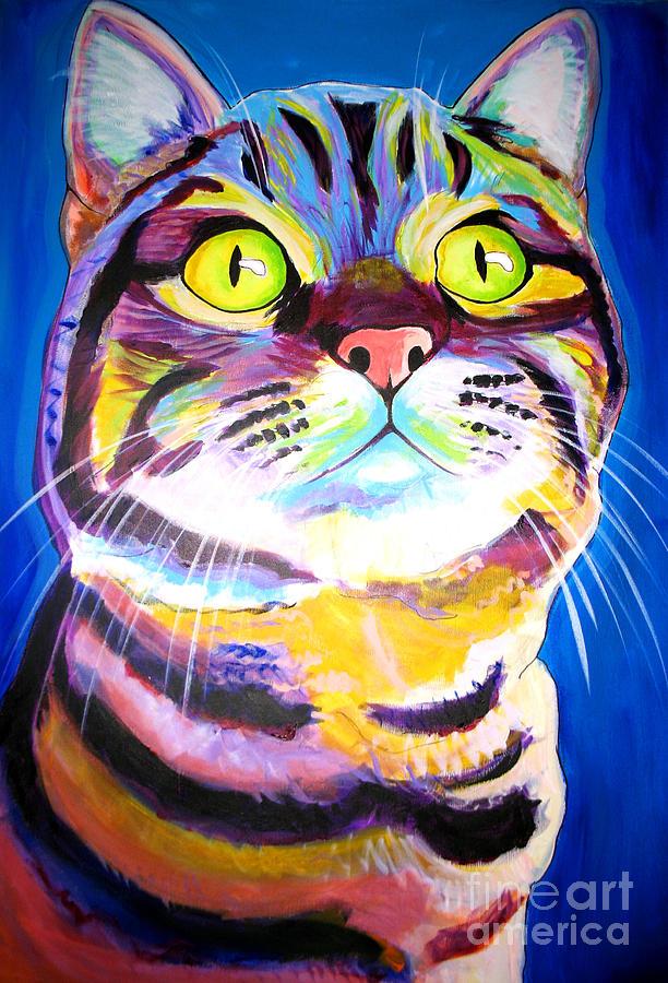 Cat - Akiko Painting