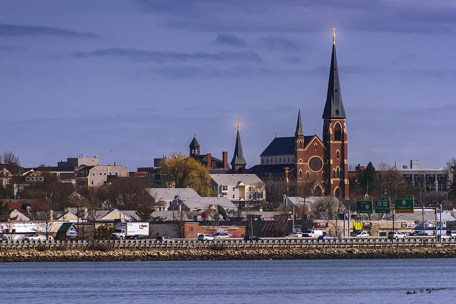 Cathedral Across The Bay Photograph