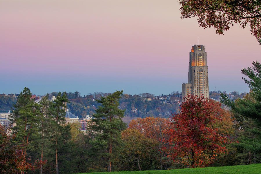 Pittsburgh Photograph - Cathedral Of Learning by Emmanuel Panagiotakis