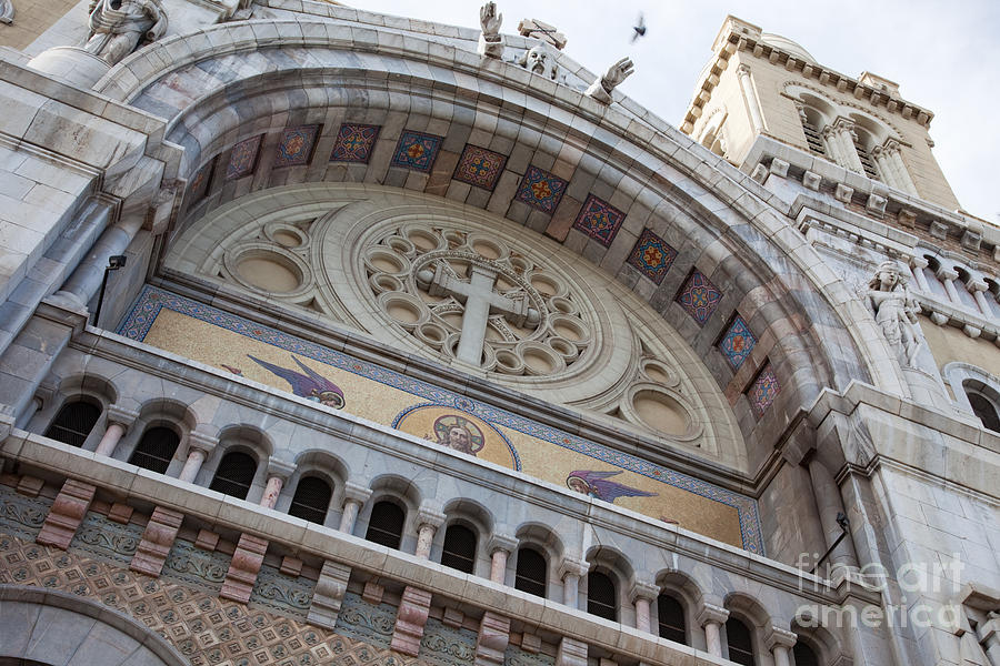 Religion Photograph - Cathedral Of St Vincent De Paul I by Irene Abdou