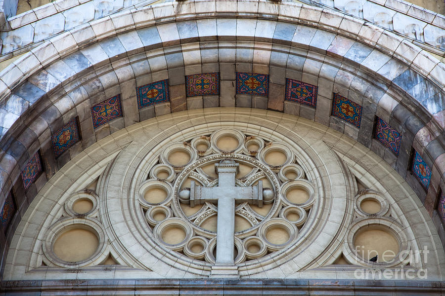 Religion Photograph - Cathedral Of St Vincent De Paul II by Irene Abdou